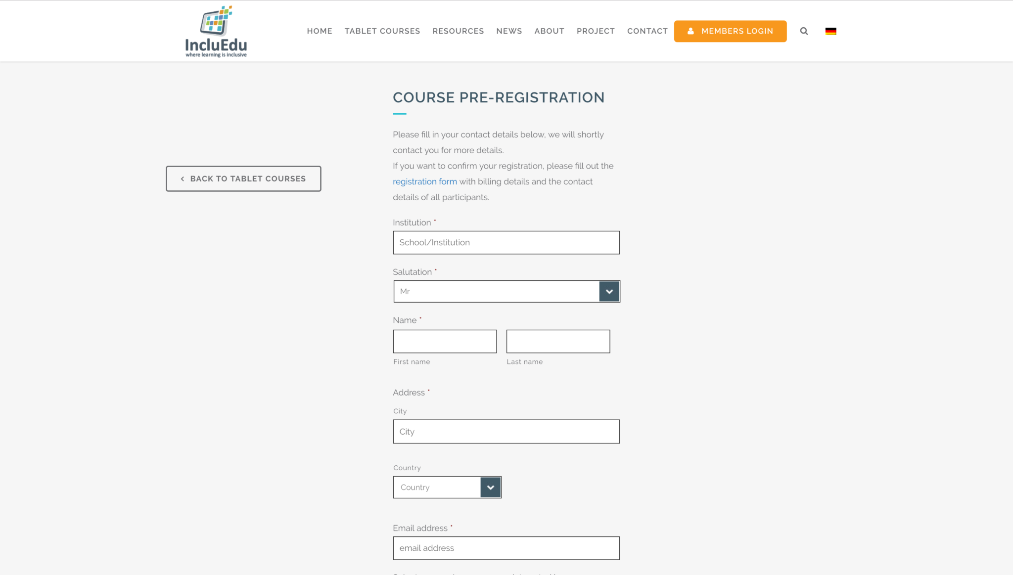incluedu-registration